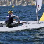 Southern California native, Nevin Snow returns to Long Beach sailing for Georgetown University during his first National Championship regatta where he finished 8th.